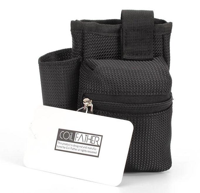 Sacoche rangement kit cigarette électronique couleur noir