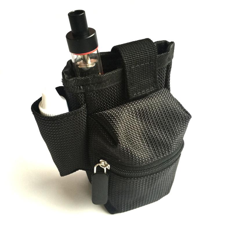 Sacoche kit e-cigarette couleur noir