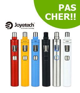 Kit eGo AIO Pro Joyetech, cigarette électronique 4ml batterie 2300mAh