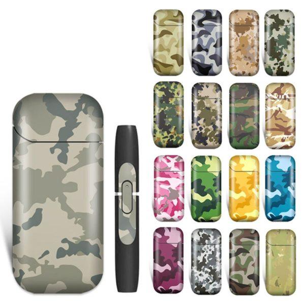 Stickers style militaire (camouflage) pour e-cigarette iQOS
