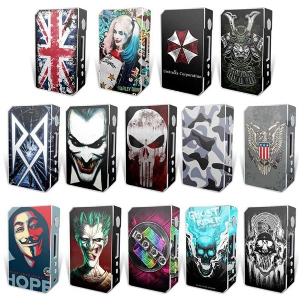 Sticker autocollant pour box VooPoo Box Mod Drag 157 W TC