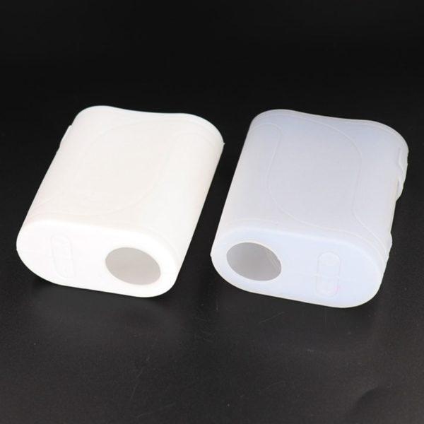 Étui silicone blanc box mod Eleaf